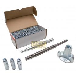 Комплект оснастки для крепления алмазных установок