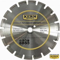 Алмазный диск KERN LASER WELDED WITH PROTECTED TOOTH серия 1.12